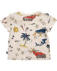 Stella McCartney Chuckle 50'S Print T-Shirt - Lyst