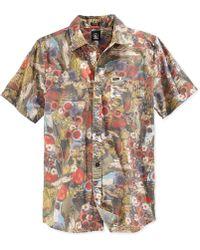 Volcom Otis Slim-Fit Button-Front Shirt - Lyst