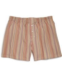 Paul Smith Striped Boxers - Lyst