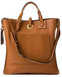 Valentino Vertical Square Saddle Bag - Lyst