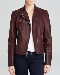 Andrew Marc Leather Jacket Casey - Lyst