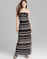 Splendid Maxi Dress Safari Stripe - Lyst
