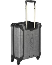 Tumi 4-Wheel Continental Cabin Carry-On Grey Suitcase - Lyst