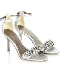 Jacques Vert - Diamante Strap Shoe - Lyst