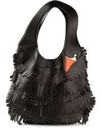 RED Valentino Swan Shoulder Bag - Lyst