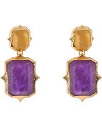 Isharya - Pastel Rani Earrings - Lyst