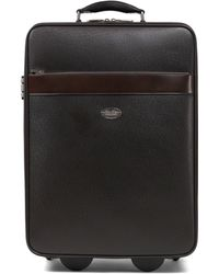 Brooks Brothers Small Leather Trolley - Lyst