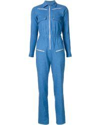 Carolina Ritz - Zipped Jumpsuit - Lyst