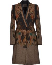 Etro Fulllength Jacket - Lyst