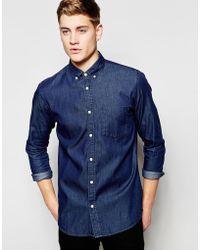 Jack & Jones - Denim Shirt - Lyst