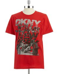DKNY M Graphic T-Shirt - Lyst