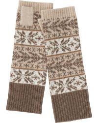 Uniqlo - Women Cashmere Fairisle Hand Warmer - Lyst
