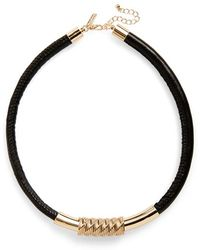 Topshop | Tube Necklace | Lyst