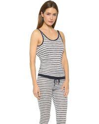 TT Beach - Great Railway Bazaar Jumpsuit - Grey/navy - Lyst