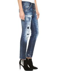 DSquared2 Cool Girl Jeans Blue - Lyst