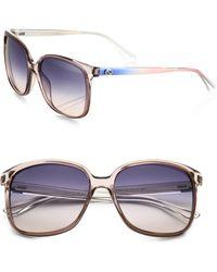 Gucci | Square Optyl Sunglasses | Lyst