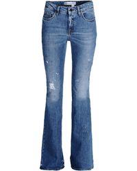 Victoria Beckham Denim Pants - Lyst