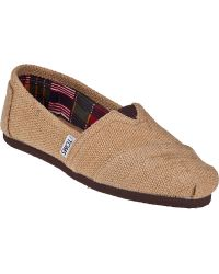 TOMS Classic Slip-On Natural Burlap - Lyst