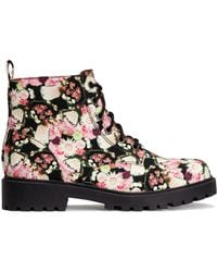 H&M Patterned Boots - Lyst