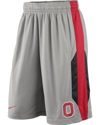 Nike Mens Ohio State Buckeyes Drifit Performance Shorts - Lyst