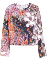 Carven Tree Spot Printed Sweatshirt - Lyst