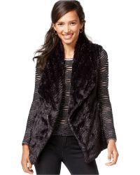 Wildflower - Faux-fur Vest - Lyst