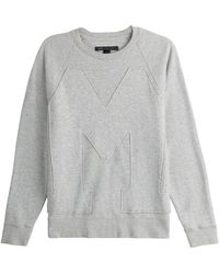 Marc By Marc Jacobs Cotton Sweatshirt - Lyst