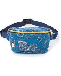 Mi-Pac - Blue Lady Paisley Bum Bag - Lyst