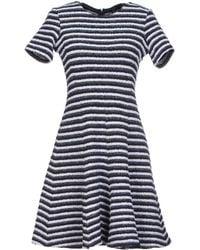 Theory Short Dress - Lyst