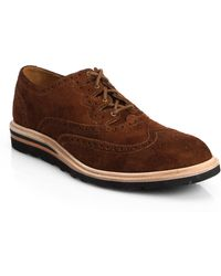Cole Haan Christy Wedge Ghilley Oxfords - Lyst