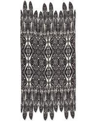 Roberto Cavalli Printed Cashmere Pashmina Wrap - Lyst