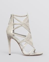 B Brian Atwood Open Toe Evening Sandals Luanna High Heel - Lyst