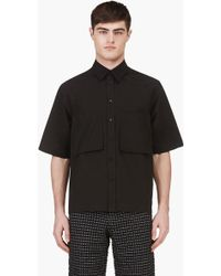 Marni Black Patch Pockets Shirt - Lyst