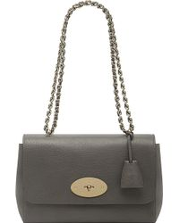 Mulberry Lily Medium Classic-grain Leather Shoulder Bag - Lyst