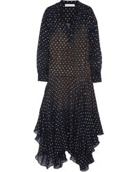 Stella McCartney Marian Silk-blend Fil Coupé Maxi Dress - Lyst