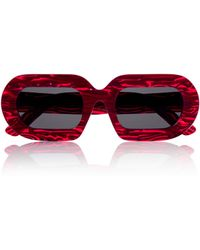 House Of Holland Eggy Red Marble - Lyst