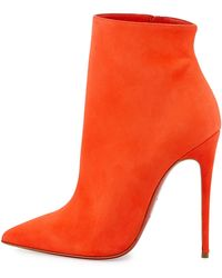 Christian Louboutin So Kate Booty Red Sole Ankle Boot - Lyst