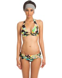 Trina Turk Tahitian Floral Twist Sash Hipster multicolor - Lyst