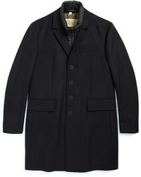 Burberry Brit - Burberry The Britain 'lyndson' 3-in-1 Peacoat - Lyst