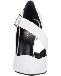 Narciso Rodriguez - Asymmetric Julianna Half D'Orsay Court Shoes - Lyst