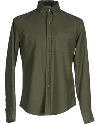 Band of Outsiders | green Shirt | Lyst