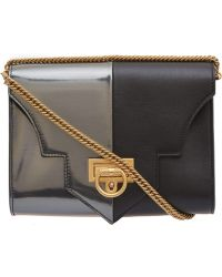 Reece Hudson Small Black Rider Leather Bag - Lyst