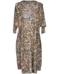 Henrik Vibskov Knee-Length Dress multicolor - Lyst