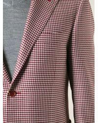 Canali - Houndstooth Pattern Blazer - Lyst