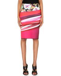 Clover Canyon Botanical Wave Pencil Skirt - Lyst