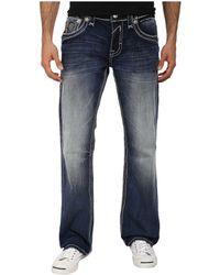 Rock Revival Sinon B3 No Flap Back Pocket Boot Cut Jean - Lyst
