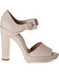 Hermès HermãˆS Peep Toe Platform Pumps - Lyst