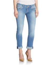 Hudson Jeans - Ginny Cropped Skinny Jeans - Lyst
