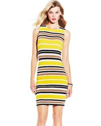 Vince Camuto Legacy Stripe Dress - Lyst