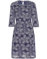 A.P.C. Osaka Printed Cotton Dress - Lyst